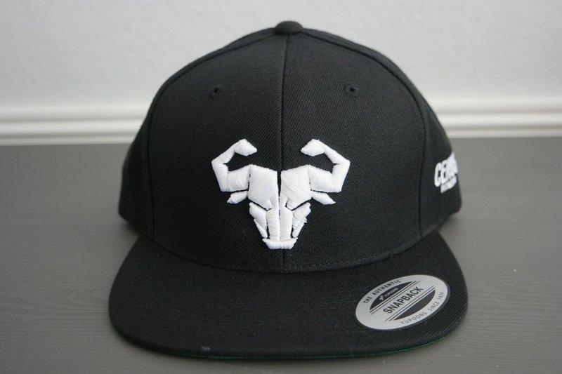 Cerus Black Snapback Hat