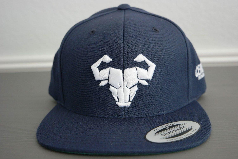 Cerus Navy Snapback Hat