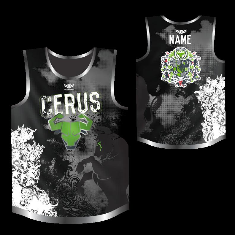 Cerus Mens Sleeveless OCR Jersey by Legendborne