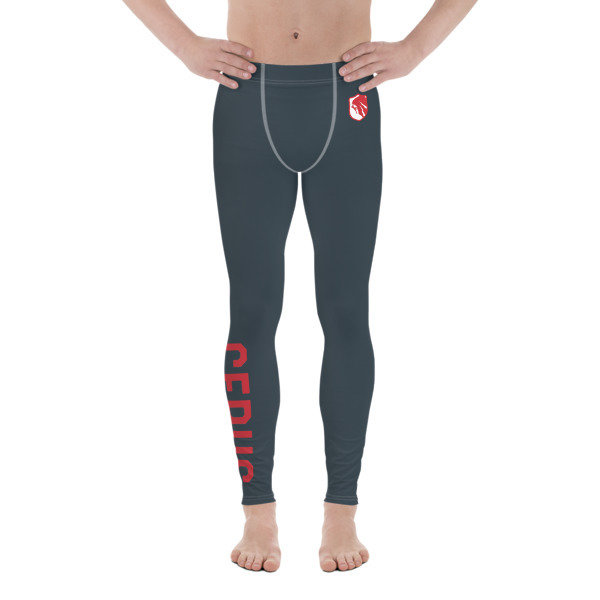 Men's Red Perseverance Compression Tights