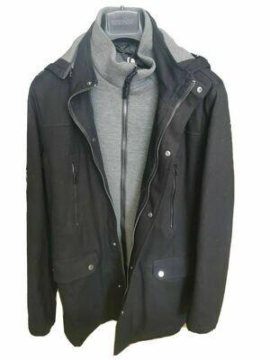 Jacket with leece bib.