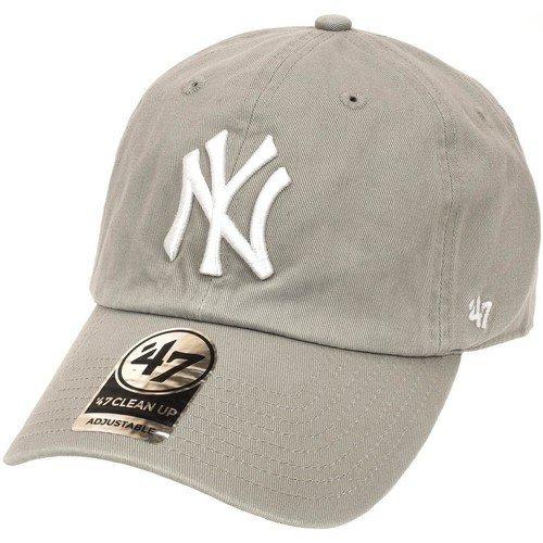 Casquette clean up Yankees mixte '47 BRAND gris clair 47brand-clean up gris clair