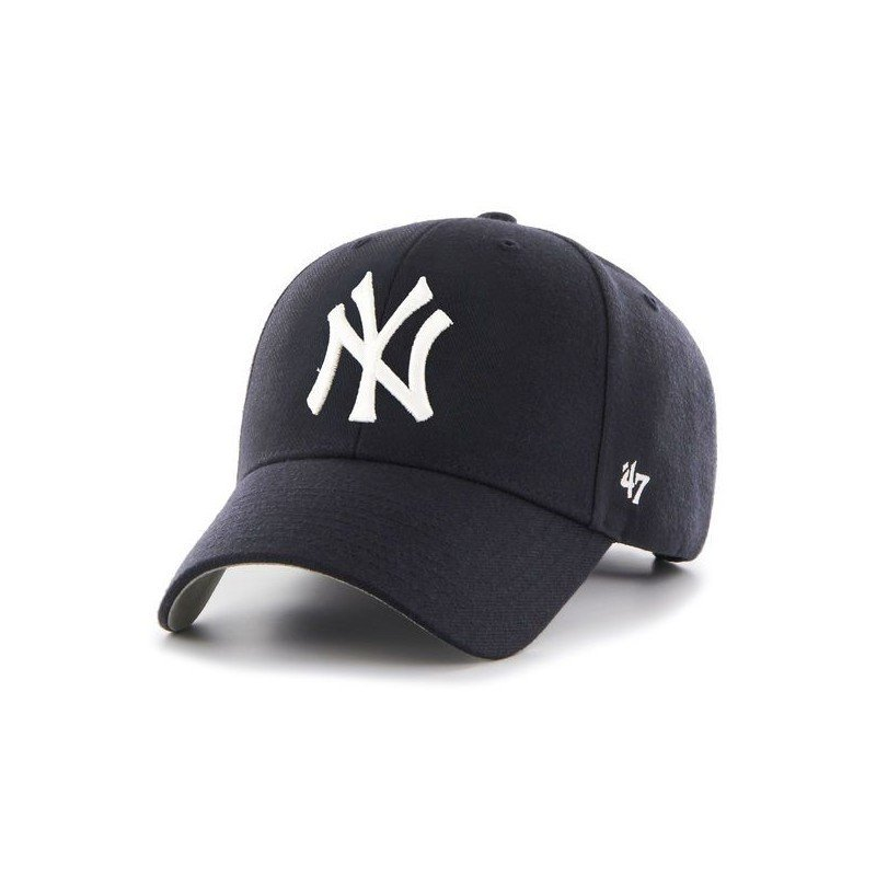 Casquette clean up Yankees mixte '47 BRAND bleu marine 47brand-clean up navy