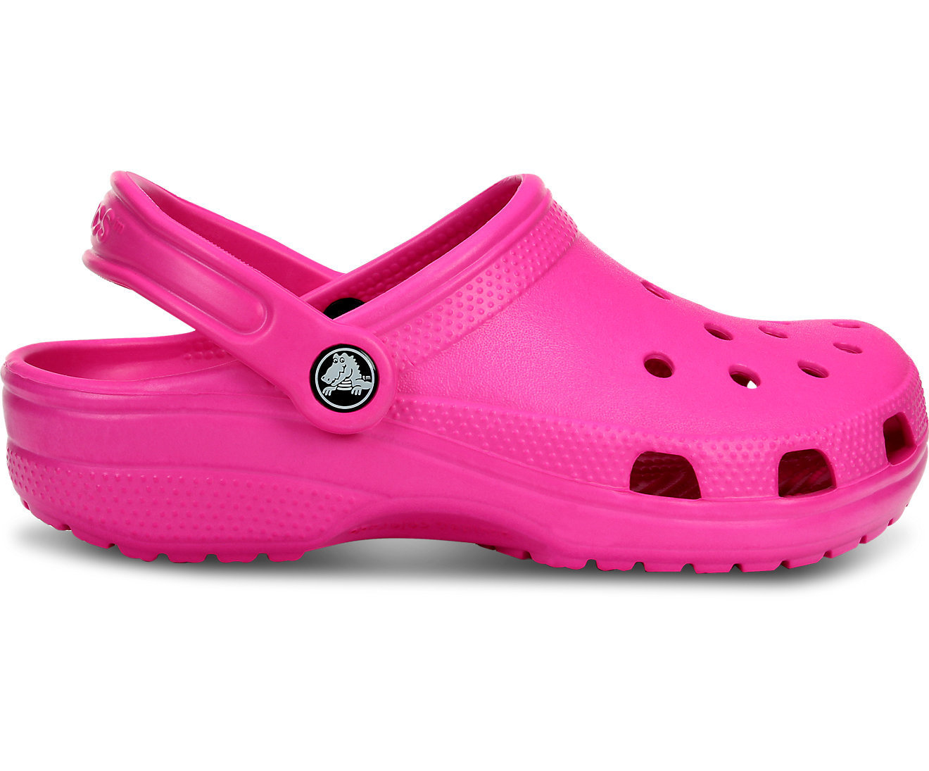 Sabot CROCS Classic rose fuschia junior crocs-kids classic rose candy pink