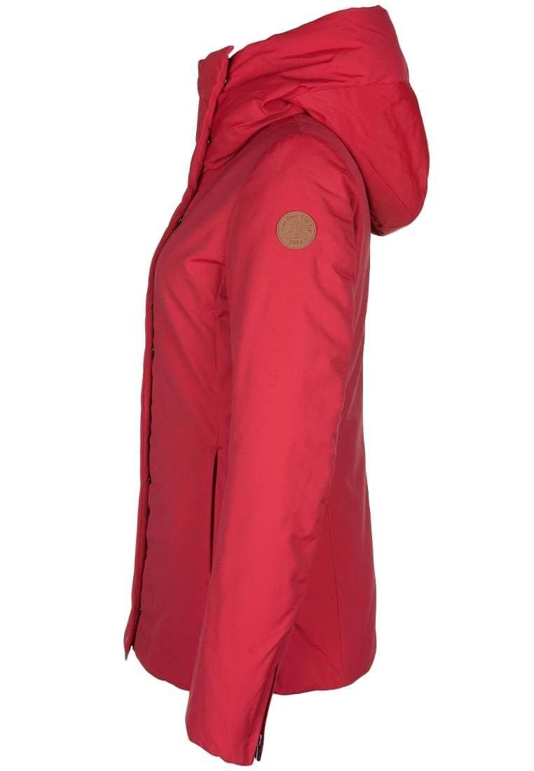 Doudoune femme Grand froid JOTT modèle Cognac rouge