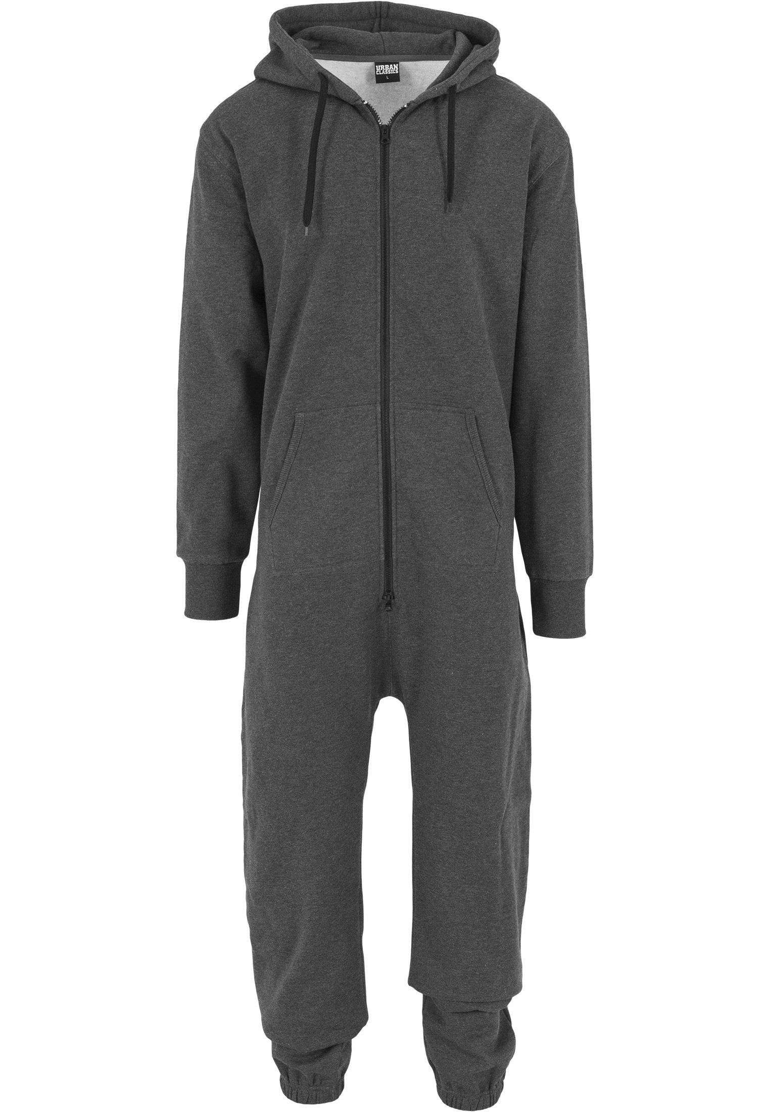 Combinaison jumpsuit homme URBAN CLASSICS gris anthracite urban classics-combi jumpsuit homme anthracite/black