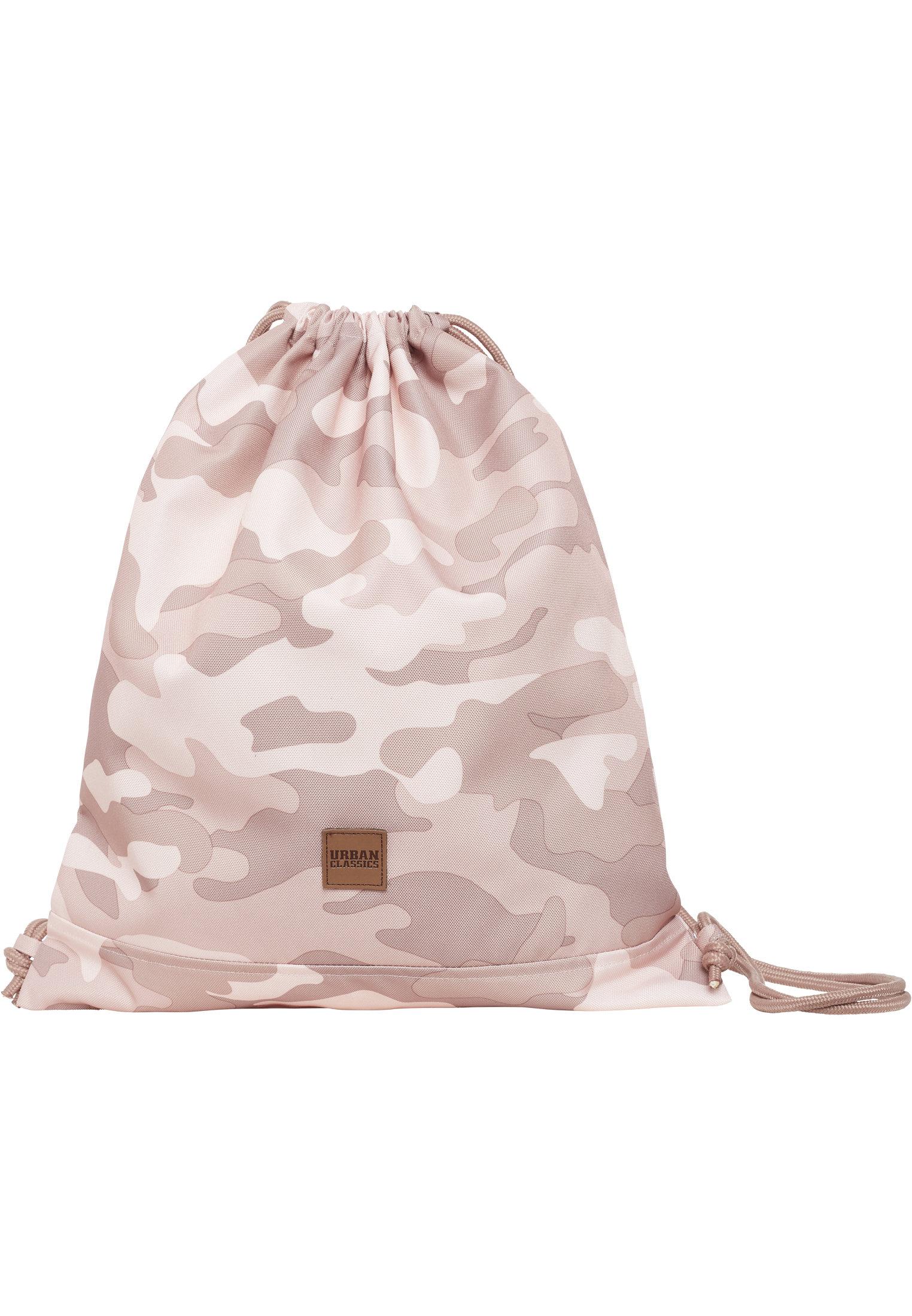 Sac à dos camouflage rose URBAN CLASSICS urban classics-gym bag came rose