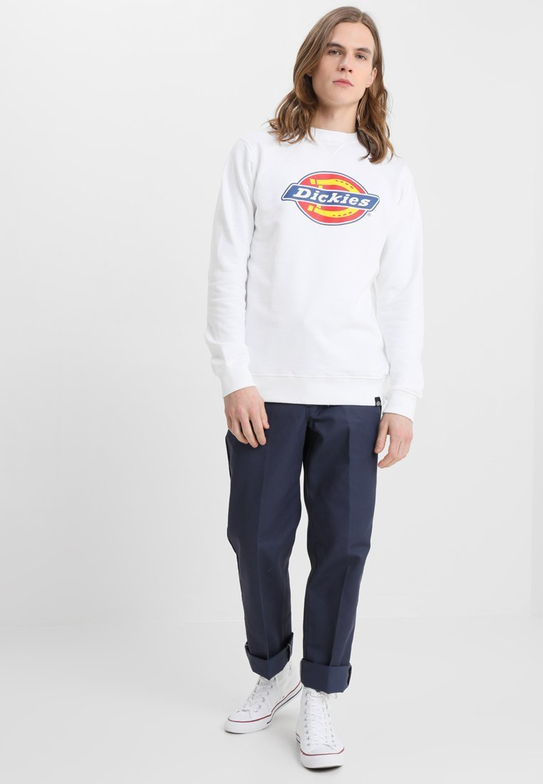 Sweat Harrison blanc à logo DICKIES