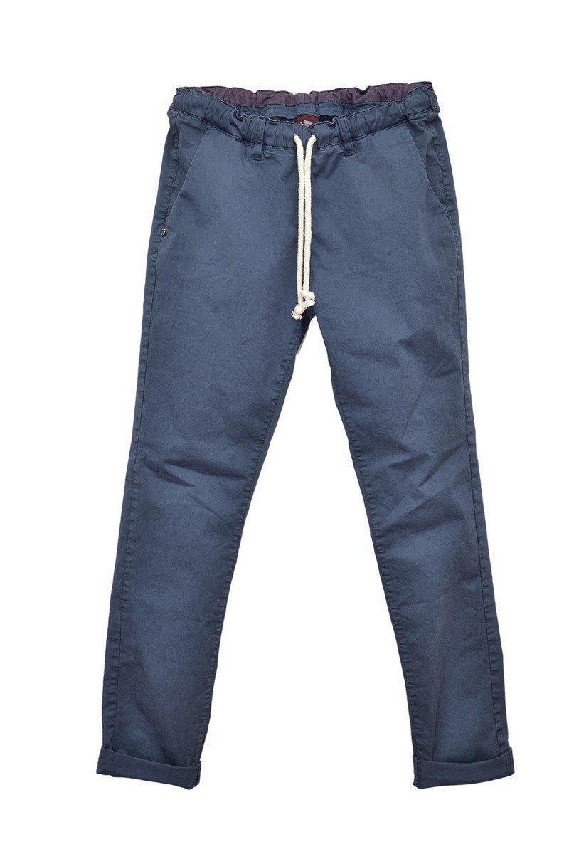 Chino taille élastique RAW navy raw-S18 chino élastique navy