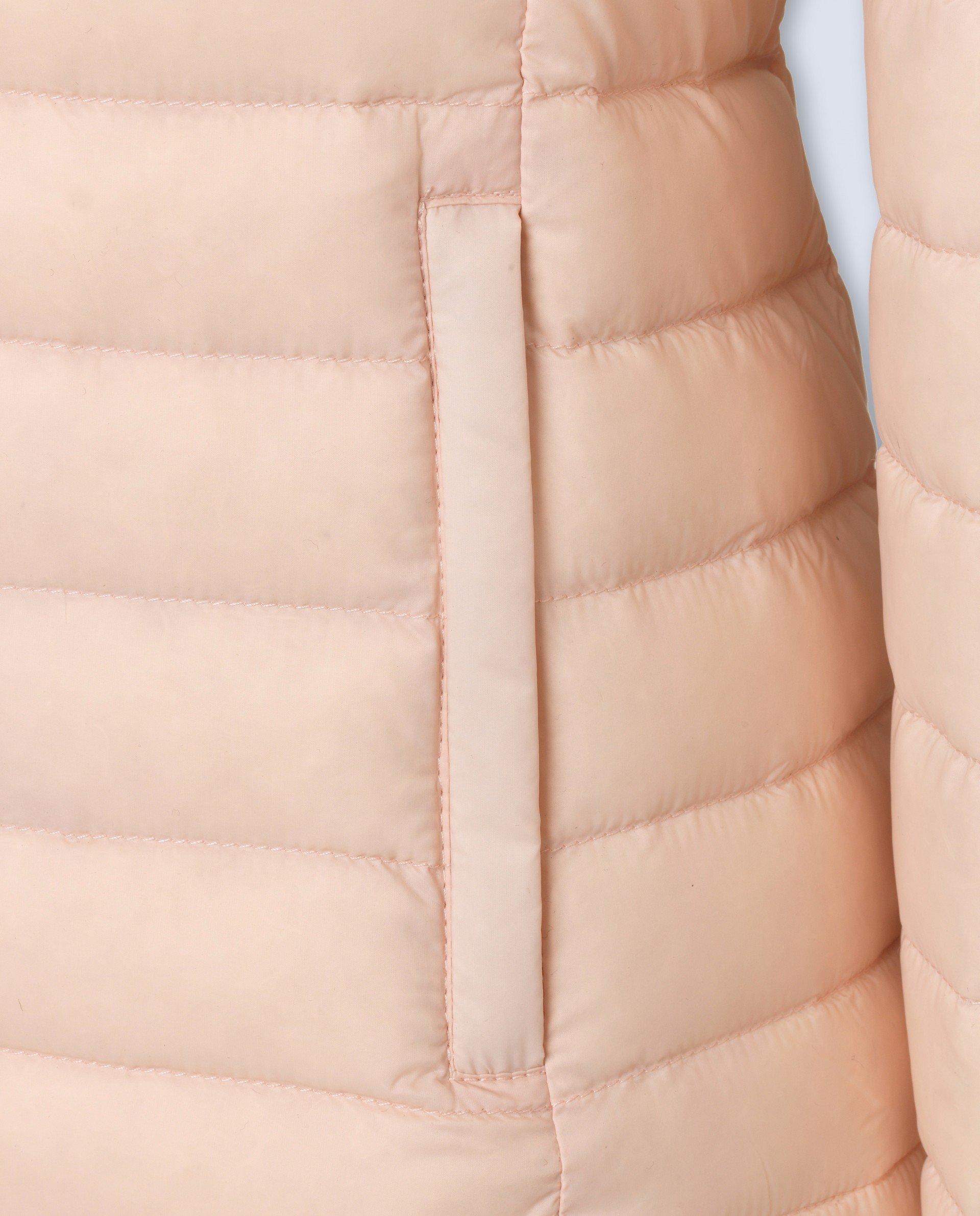 Doudoune Francine GERTRUDE et GASTON à capuche rose pastel