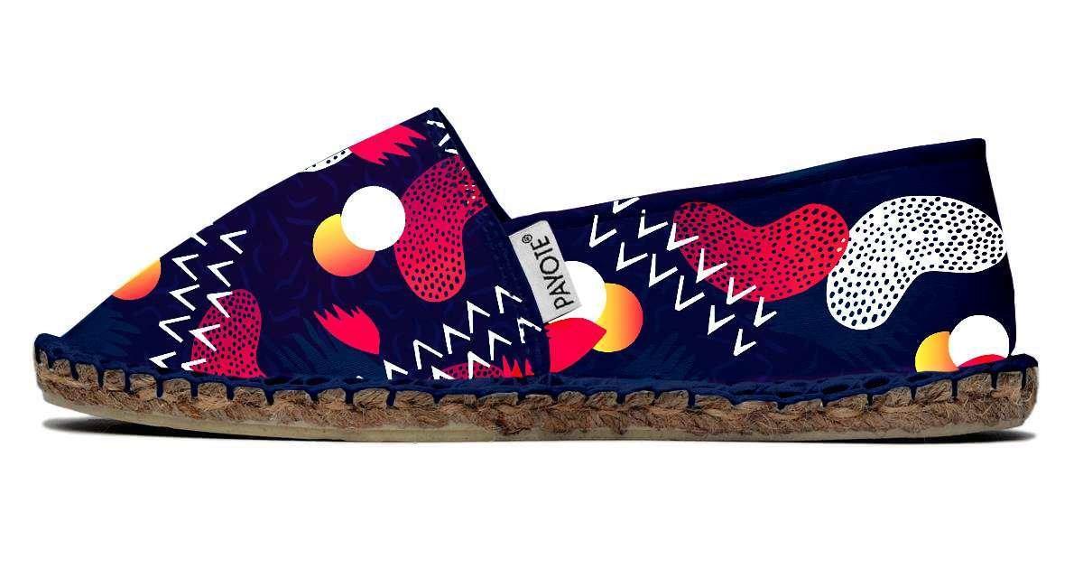 Espadrille PAYOTE Régine, à motifs multicolores payote-regine