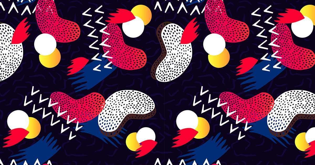Espadrille PAYOTE Régine, à motifs multicolores