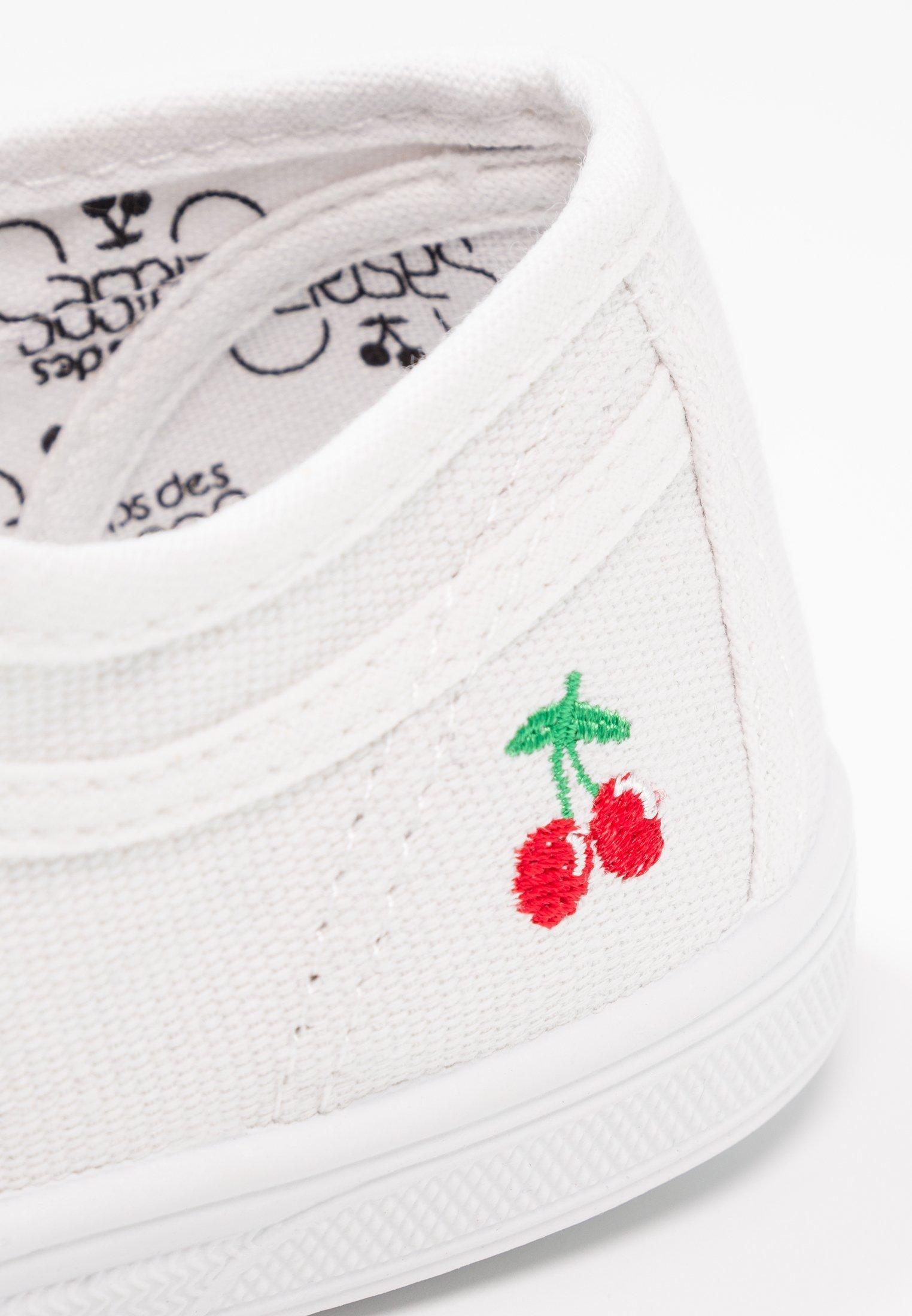 Baskets femme LE TEMPS DES CERISES basic 02 blanc