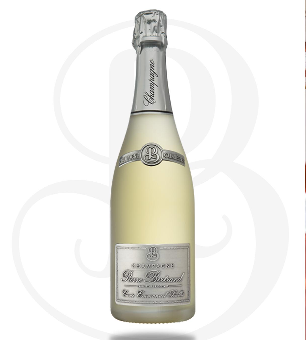 Champagne Pierre Bertand - Cuvée Emmanuel Soullié