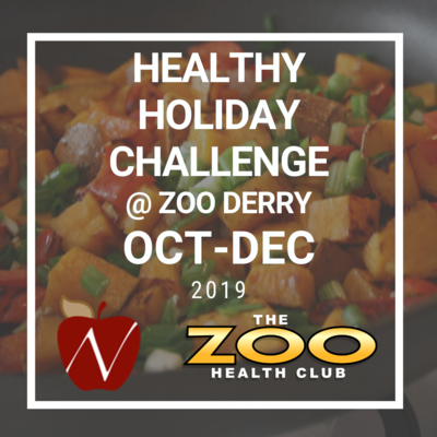 Healthy Holiday Challenge - Zoo Derry