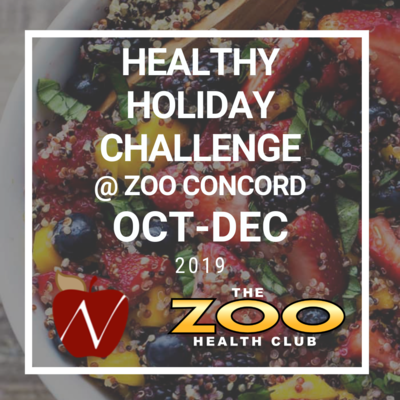 Healthy Holiday Challenge - Zoo Concord