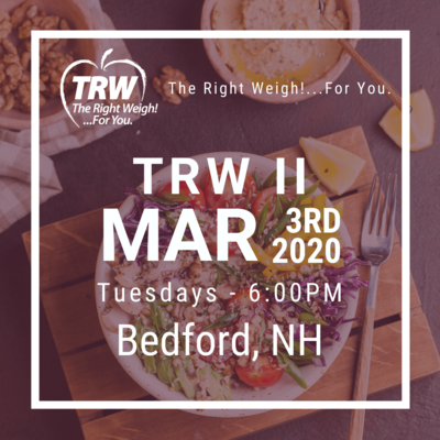 TRW II Bedford - 3/3/2020 6:00pm