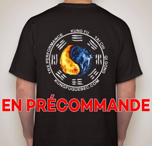 T-Shirt Kung Fu Québec en précommande 00100
