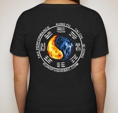 T-Shirt Femme Kung Fu Québec
