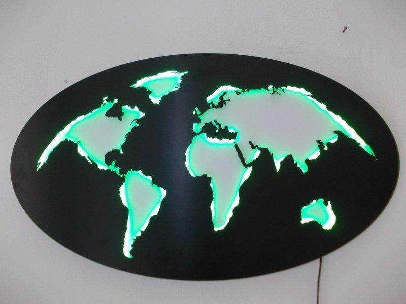 Mappamondo RGB WiFi