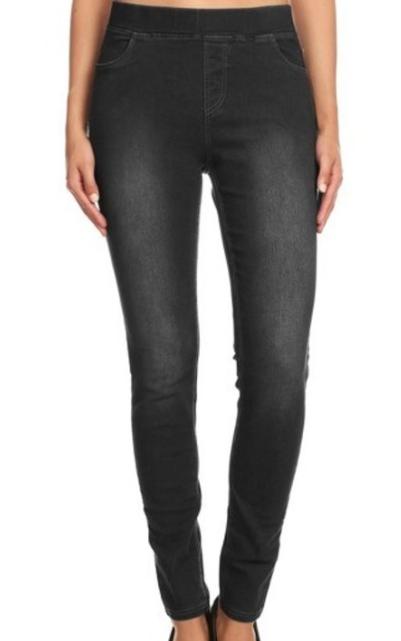 Yoga Jeans ~ Black Wash