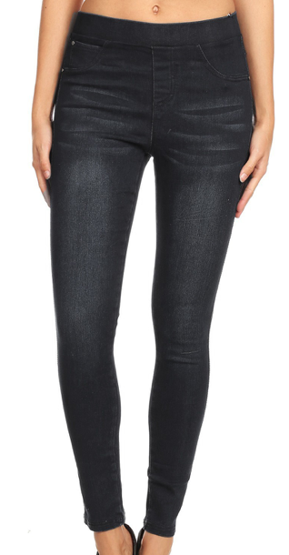 Yoga Jeggings ~ BLACK