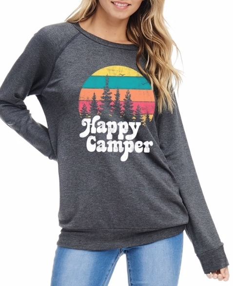 Happy Camper ~ Charcoal