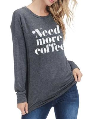 Need More Coffee ~ charcoal