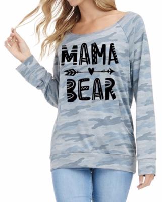 Mama Bear ~ faded camo