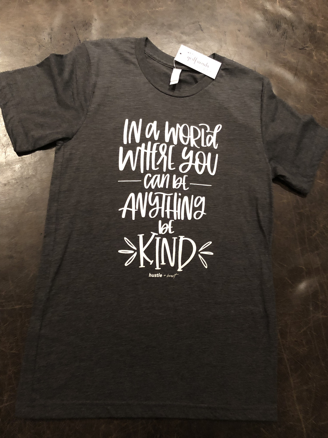 Be Kind ~ NEW COLLECTION ~ charcoal
