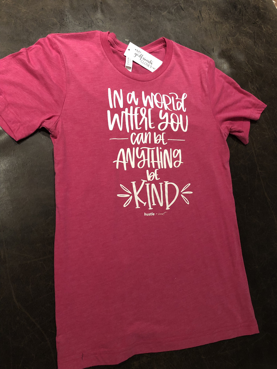 Be Kind ~ NEW COLLECTION ~ heather raspberry