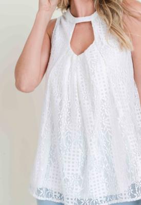 Classy Lace ~ White