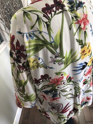 Floral Kimono ~ White