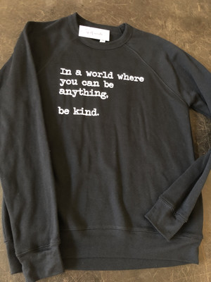 Be Kind ~ Sweater Collection ~ Black