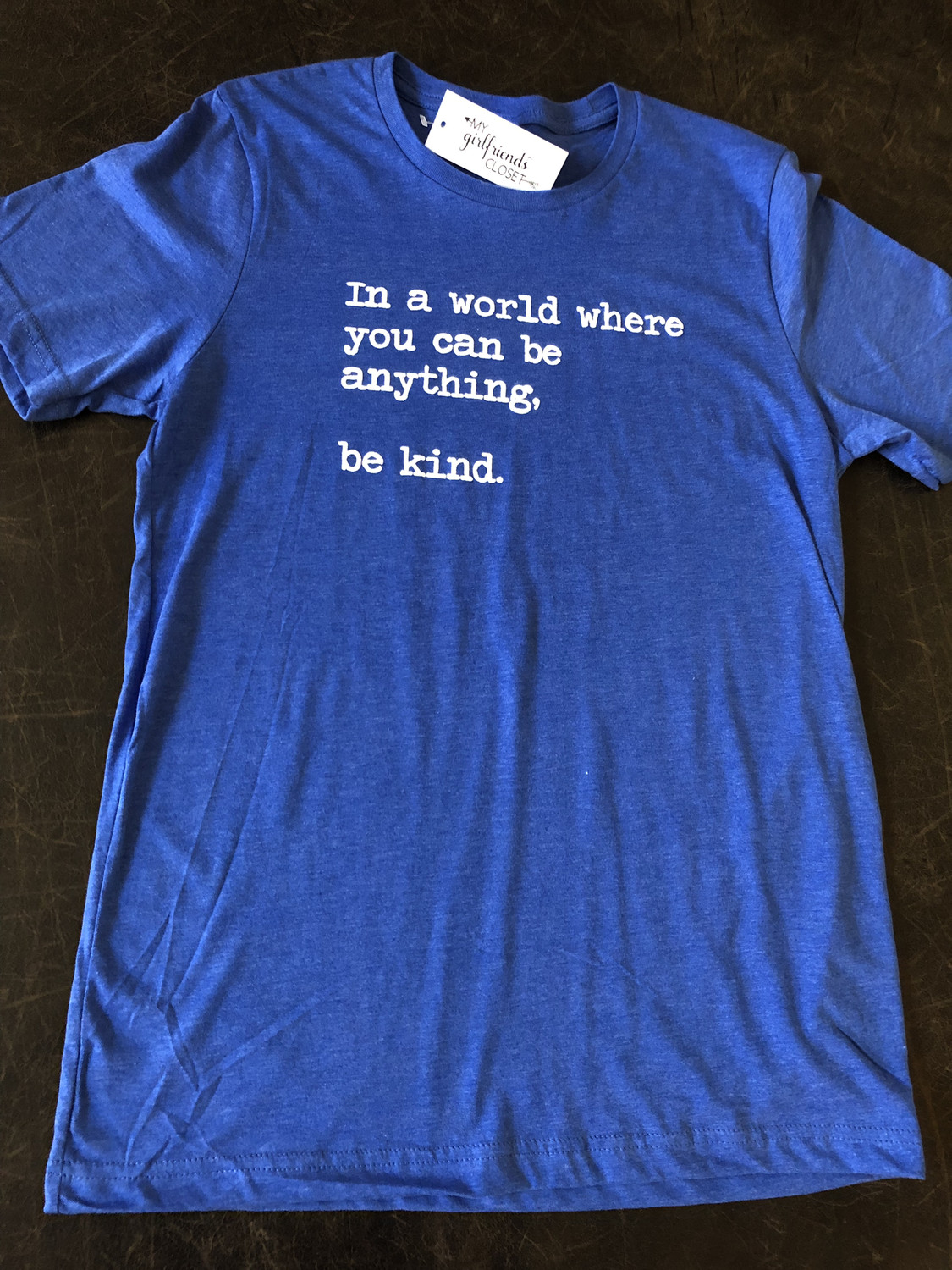 Be Kind Collection ~Heather Royal Blue