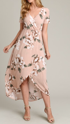 Dusty Pink Floral