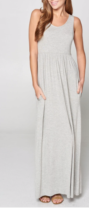 Heather Grey Maxi