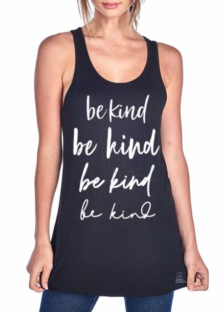 Be Kind on repeat ~ black