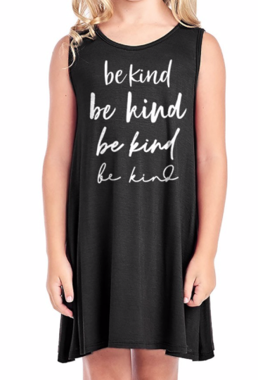 GIRLS ~ Be Kind on repeat ~ black