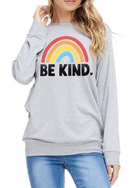 Be Kind ~ light grey