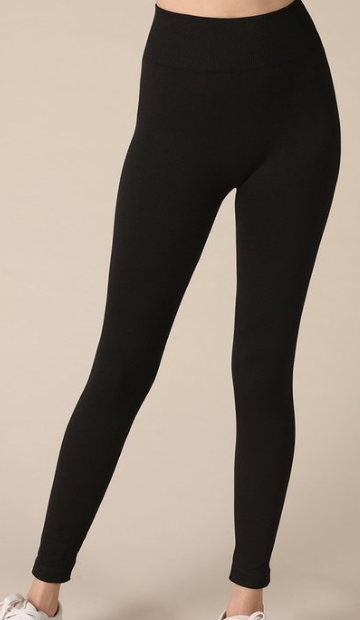 Solid Black Nikibiki basic legging