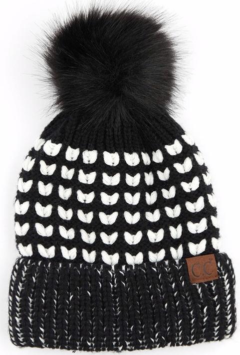 Heart Knit ~ black