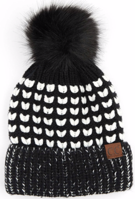 Heart Knit ~ black
