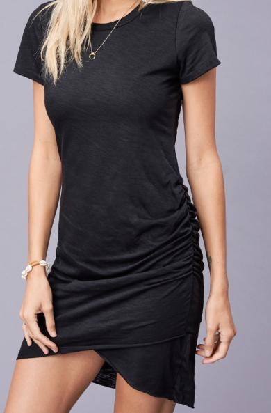 Everyday T-shirt Dress ~black
