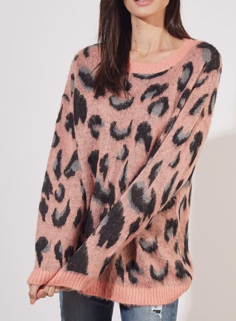 Cozy + Wild ~ peachy leopard