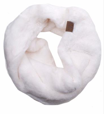Faux Fur Neck Warmer ~ ivory