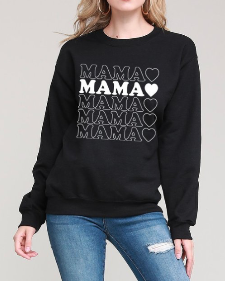 Mama Sweater ~ black