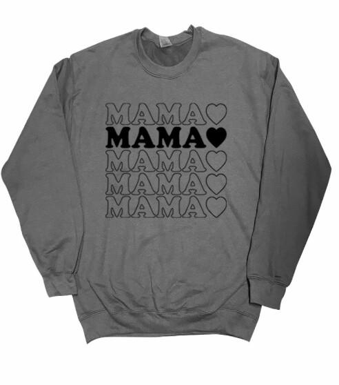 Mama Sweater ~ grey