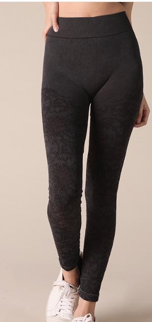 Vintage Lace Leggings