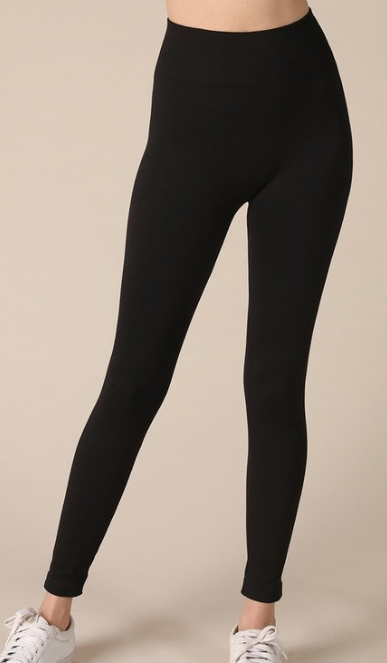 Basic Legging ~ Jet Black